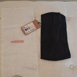 Missoni Headband - Black Zig Zag Pattern - NWT